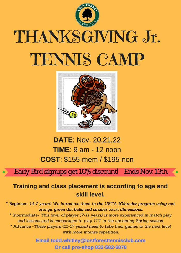 Thanksgiving Camp 2017